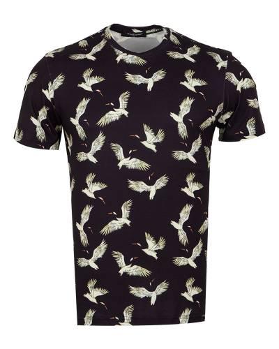 MAKROM - Patterns Printed Short Sleeved T.Shirt TS 1281