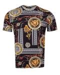 Patterns Printed Short Sleeved T.Shirt TS 1282 - Thumbnail