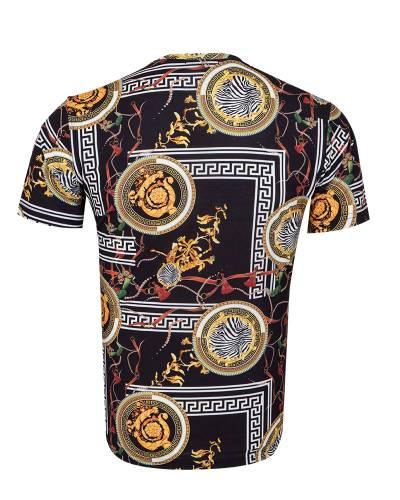 Patterns Printed Short Sleeved T.Shirt TS 1282