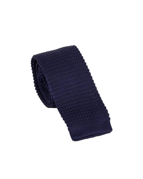 MAKROM - Plain Design Classic Knitted Necktie KR 25 (1)