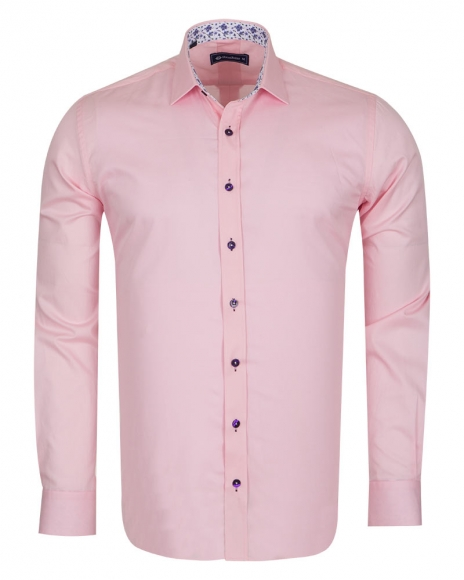 Oscar Banks - Plain Shirt With Details SL 6655 (1)