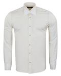 Plain Wing Collar Mens Shirt SL 7030 - Thumbnail