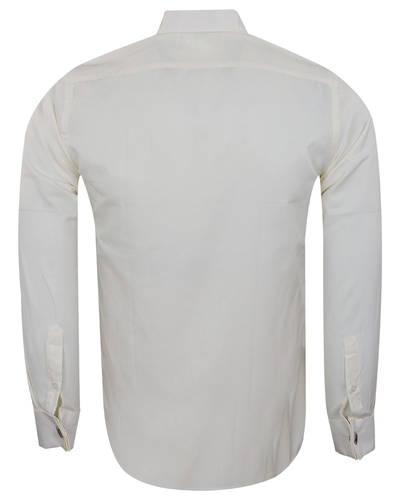 Plain Wing Collar Mens Shirt SL 7030