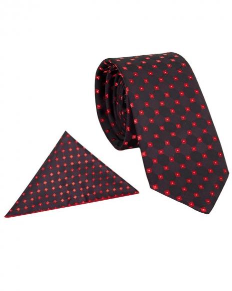 MAKROM - Polka Dot Design Quality Necktie KR 01 (Thumbnail - )