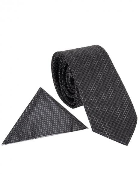 MAKROM - Polka Dot Textured Quality Necktie KR 12