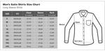 Printed Long Sleeved Satin Mens Shirt SL 6934 - Thumbnail