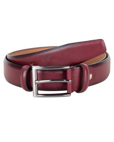 Regular Design Leather Belt B 26