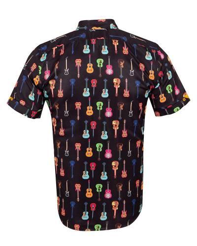MAKROM - Short Sleeved Printed Men Shirt SS 6649 (1)