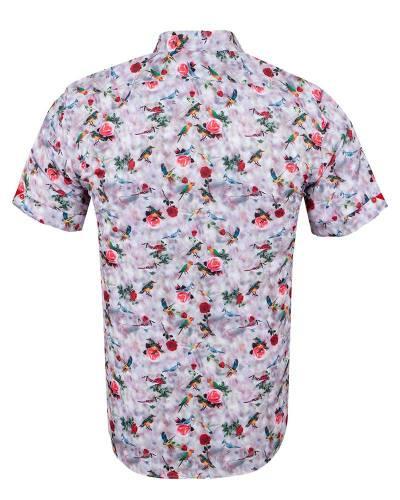 MAKROM - Short Sleeved Printed Men Shirt SS 6651 (1)