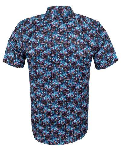 MAKROM - Short Sleeved Printed Men Shirt SS 6652 (1)