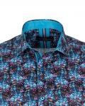 Short Sleeved Printed Men Shirt SS 6652 - Thumbnail