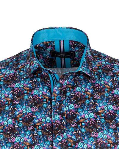 Short Sleeved Printed Men Shirt SS 6652