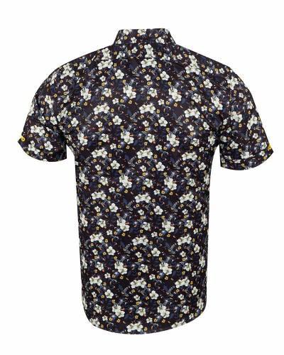 MAKROM - Short Sleeved Printed Men Shirt SS 6653 (1)