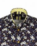 Short Sleeved Printed Men Shirt SS 6653 - Thumbnail