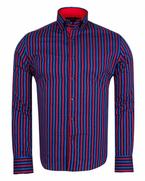 MAKROM - Striped Long Sleeved Shirt SL 5519