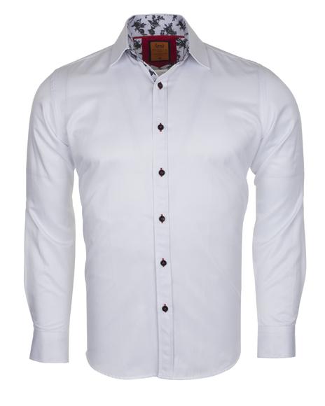 MAKROM - Plain Long Sleeved Shirt with Inside Details SL 6283