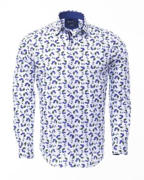 Printed Long Sleeved Shirt SL 6304