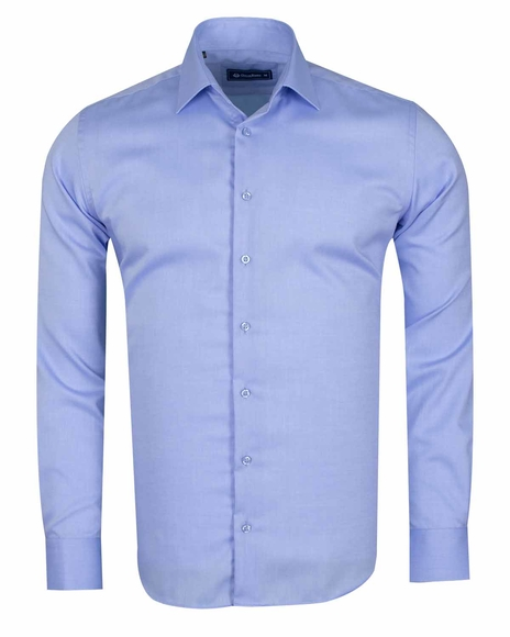Oscar Banks - Long Sleeved Classical Cotton Mens Shirt SL 6418