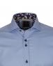 Long Sleeved Mens Shirt With Collar Contrast SL 6556 - Thumbnail