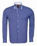 Classical Double Collar Long sleeved Shirt SL 6615 - Thumbnail