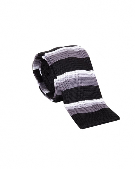 MAKROM - Striped Design Classic Necktie KR 23