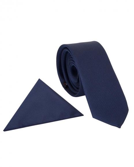 MAKROM - Textured Classic Premium Necktie KR 06 (Thumbnail - )