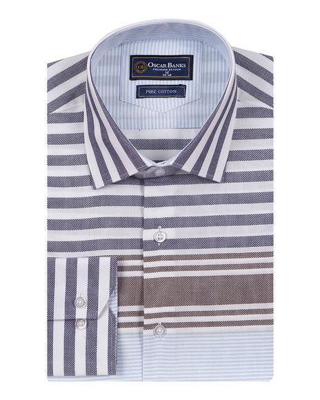 Textured Long Sleeved Shirt SL 6763