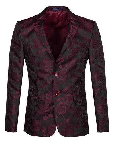 Oscar Banks - Textured Mens Blazer J 280 (Thumbnail - )
