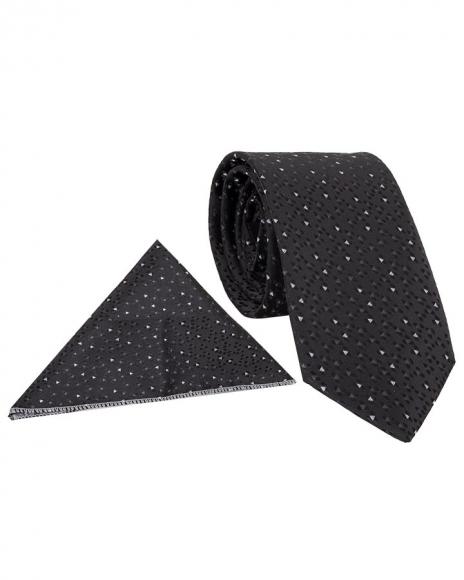 MAKROM - Triangle Shapes Printed Necktie KR 18