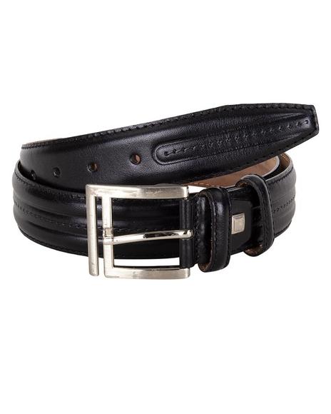 MAKROM - Triple Ply Leather Belt B 18
