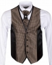 Checkhered MAKROM Wedding Waistcoat YL 07 - Thumbnail